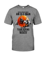 03 Team roping old man Premium Fit Mens Tee tile