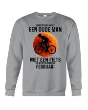 2 cycling old man never dutch Crewneck Sweatshirt tile