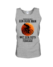 2 cycling old man never dutch Unisex Tank tile