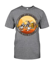 i like beer team roping Classic T-Shirt tile