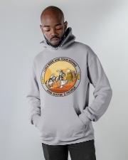 i like beer team roping Hooded Sweatshirt apparel-hooded-sweatshirt-lifestyle-front-09