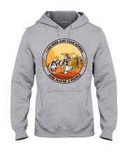 i like beer team roping Hooded Sweatshirt front