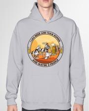 i like beer team roping Hooded Sweatshirt garment-hooded-sweatshirt-front-04