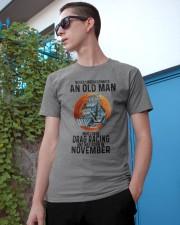 drag racing old man never 11 Classic T-Shirt apparel-classic-tshirt-lifestyle-17
