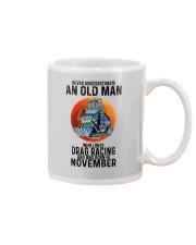 drag racing old man never 11 Mug tile