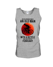 02 cycling old man never Unisex Tank tile