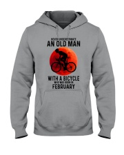 02 cycling old man never Hooded Sweatshirt tile