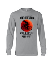 02 cycling old man never Long Sleeve Tee tile