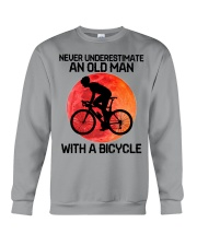 04 hat cycling old man  Crewneck Sweatshirt tile
