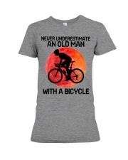 04 hat cycling old man  Premium Fit Ladies Tee tile