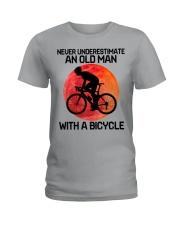 04 hat cycling old man  Ladies T-Shirt tile