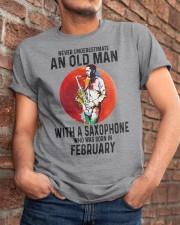 02 saxophone old man never Classic T-Shirt apparel-classic-tshirt-lifestyle-26