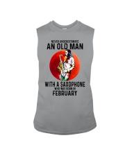 02 saxophone old man never Sleeveless Tee tile