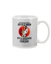 02 saxophone old man never Mug tile