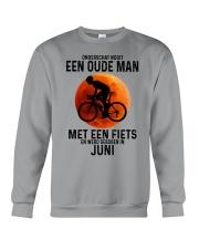 6 cycling old man never dutch Crewneck Sweatshirt tile