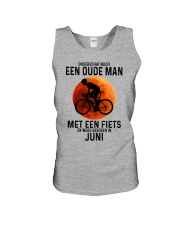 6 cycling old man never dutch Unisex Tank tile