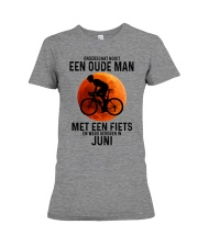6 cycling old man never dutch Premium Fit Ladies Tee tile