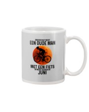 6 cycling old man never dutch Mug tile