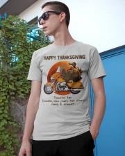 Biker Thanksgiving Classic T-Shirt apparel-classic-tshirt-lifestyle-17