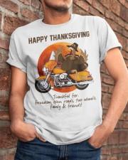 Biker Thanksgiving Classic T-Shirt apparel-classic-tshirt-lifestyle-26