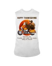 Biker Thanksgiving Sleeveless Tee tile