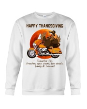 Biker Thanksgiving Crewneck Sweatshirt tile