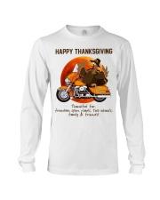 Biker Thanksgiving Long Sleeve Tee tile