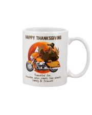 Biker Thanksgiving Mug tile