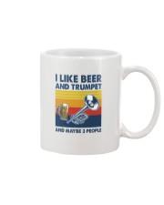 Trumpet I Like Beer Mug tile