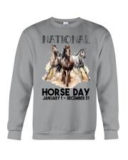 National Horse Crewneck Sweatshirt tile