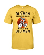 Cycling Most Old Men  Classic T-Shirt front