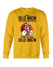 Cycling Most Old Men  Crewneck Sweatshirt tile