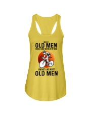 Cycling Most Old Men  Ladies Flowy Tank tile