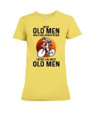 Cycling Most Old Men  Premium Fit Ladies Tee tile