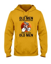 Cycling Most Old Men  Hooded Sweatshirt tile