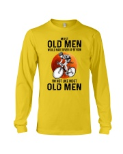 Cycling Most Old Men  Long Sleeve Tee tile