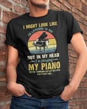 Piano I Might listenning Classic T-Shirt apparel-classic-tshirt-lifestyle-26