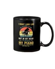Piano I Might listenning Mug tile