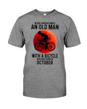 10 cycling old man never Premium Fit Mens Tee tile