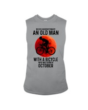 10 cycling old man never Sleeveless Tee tile