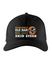 hat skid steer old man Embroidered Hat thumbnail