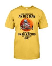 07 dragrc-olm Classic T-Shirt front