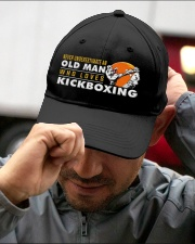 hat kickboxing old man Embroidered Hat garment-embroidery-hat-lifestyle-01