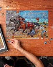 harness racing 250 Piece Puzzle (horizontal) aos-jigsaw-puzzle-250-pieces-horizontal-lifestyle-front-02