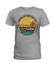 i like beer demolition derby Ladies T-Shirt tile