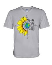 1 photography V-Neck T-Shirt tile