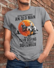 09 Team roping old man Classic T-Shirt apparel-classic-tshirt-lifestyle-26