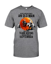 09 Team roping old man Classic T-Shirt front
