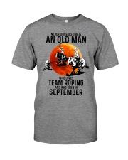 09 Team roping old man Premium Fit Mens Tee tile