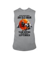 09 Team roping old man Sleeveless Tee tile